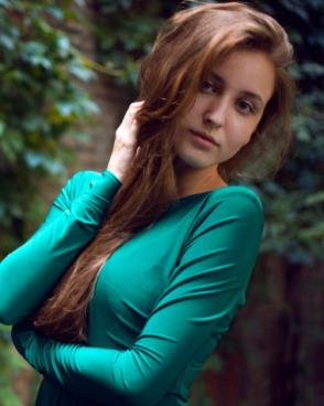 Beautiful woman from Ukraine