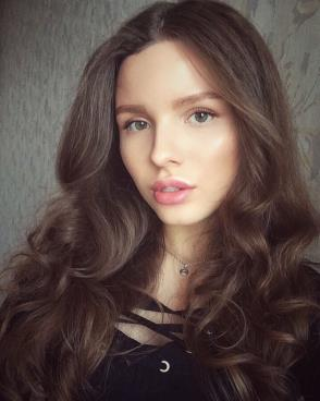 Beautiful woman from Russia